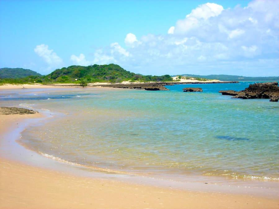 Playa en el área de Maputo