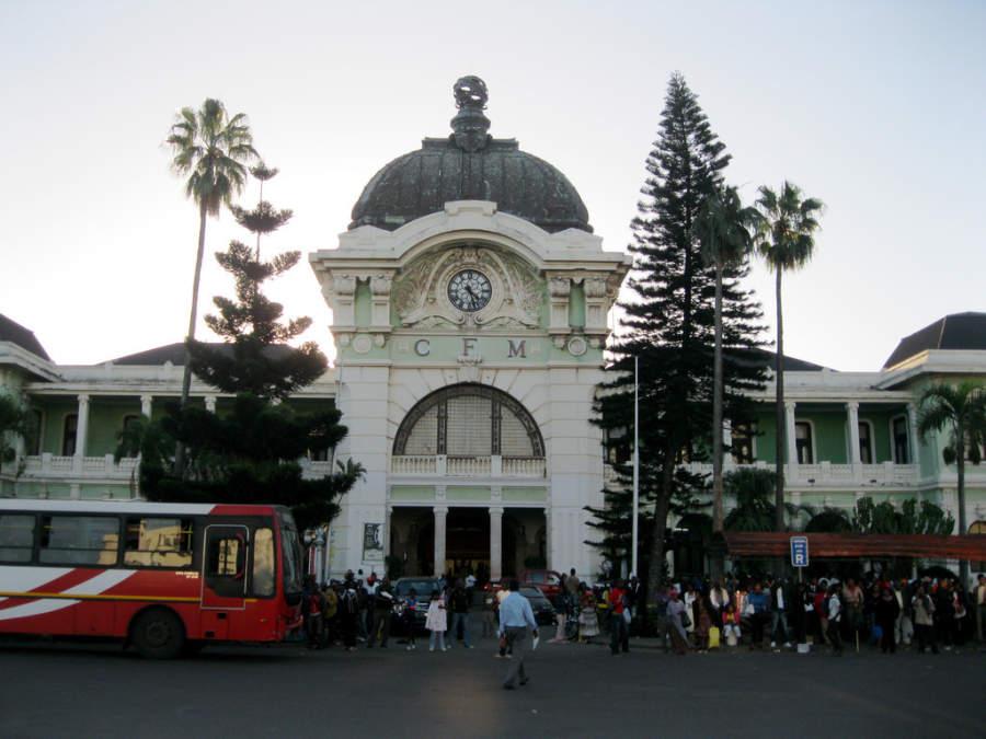 Estación de tren en Maputo