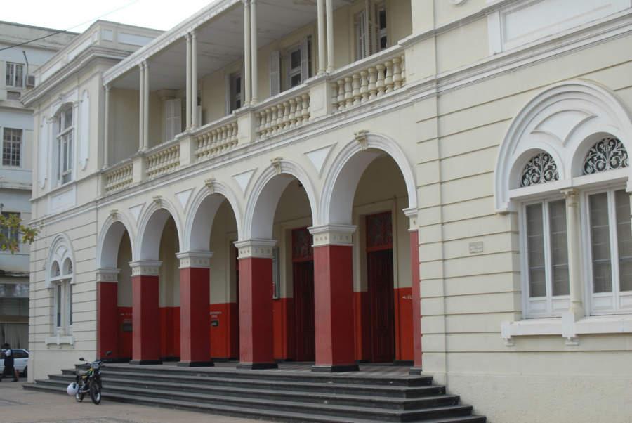 Edificio de correos en Maputo