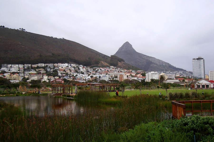 Parque urbano Green Point
