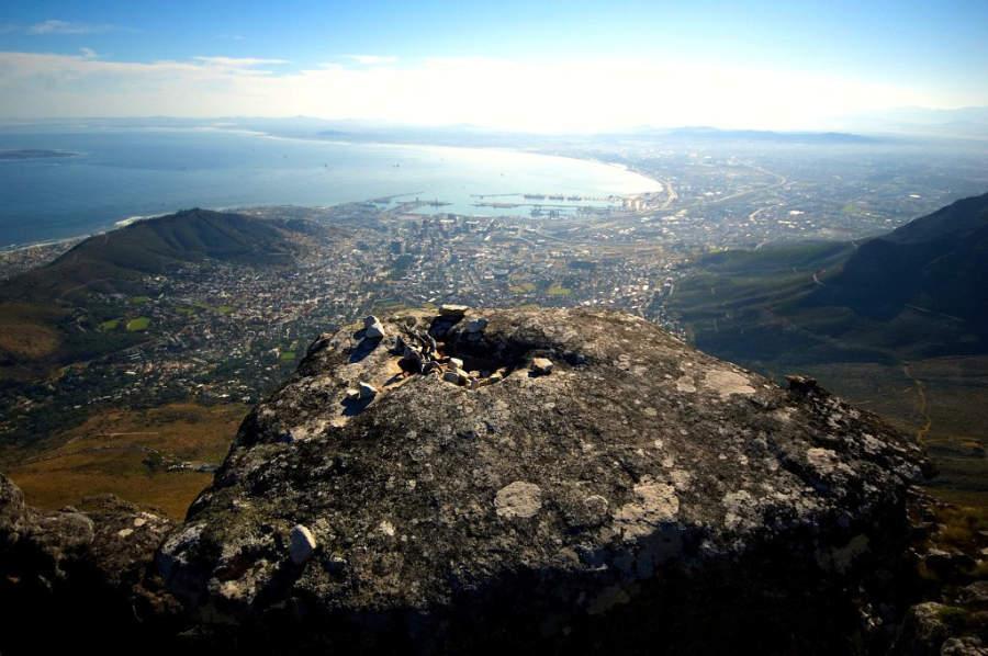 Vista panorámica de Ciudad del Cabo