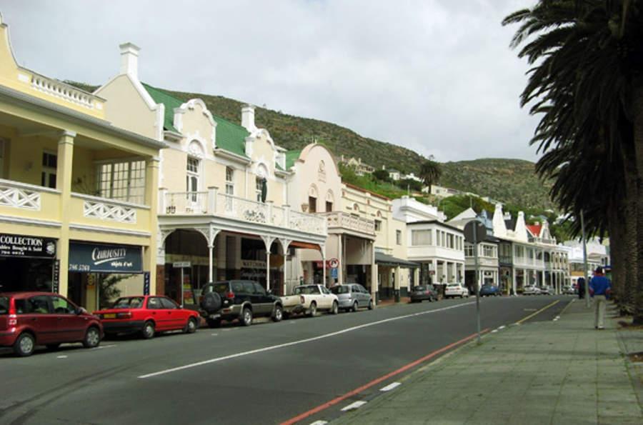 Calle del centro histórico de Ciudad del Cabo