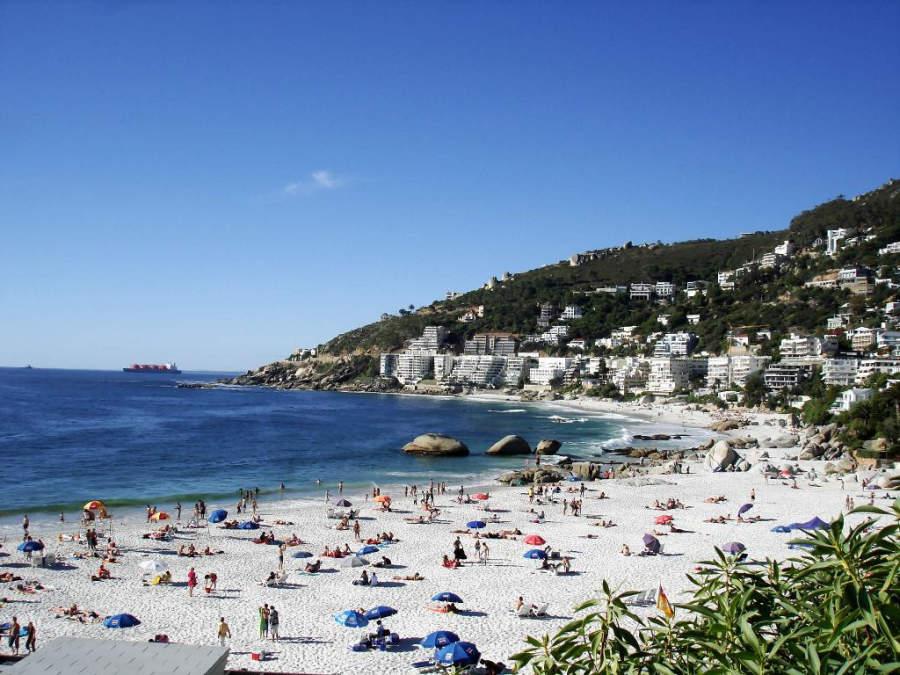 Playa Clifton 4th en Ciudad del Cabo