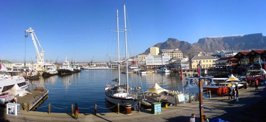 Victoria & Alfred Waterfront, malecón en una zona histórica de Ciudad del Cabo