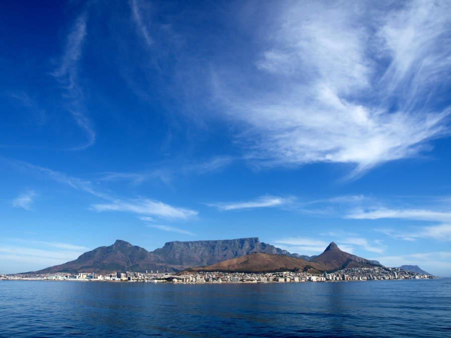 Table Mountain, importante símbolo de la ciudad