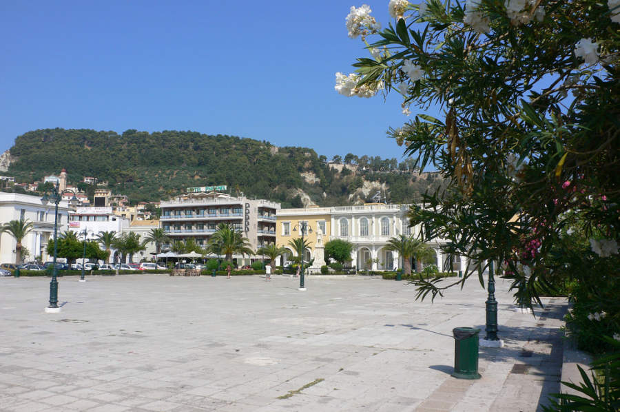 Plaza San Marcos en Zante