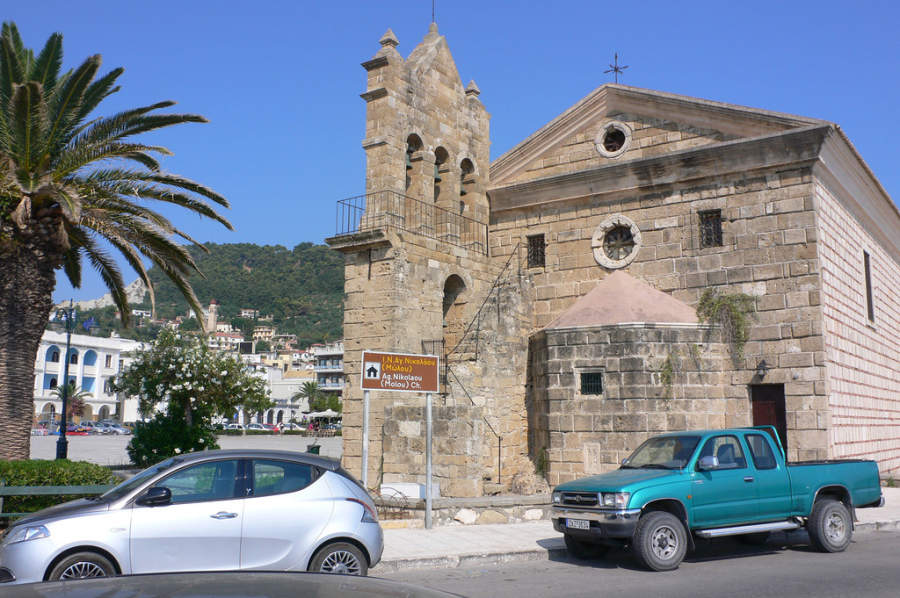 Antigua Iglesia Nikolaou en Zante