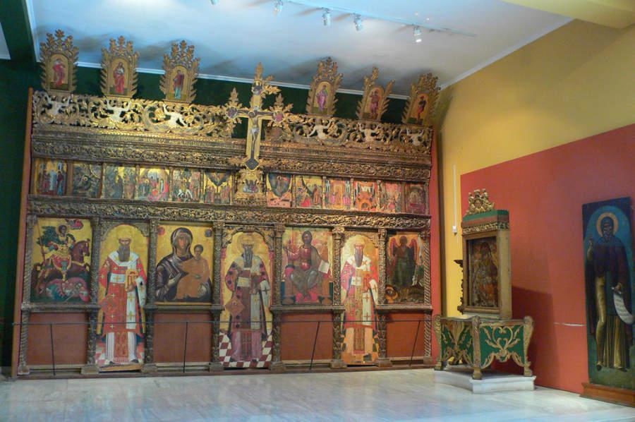 Interior del Museo de Zakynthos