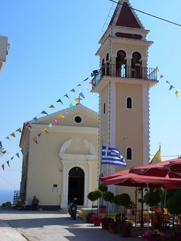 Iglesia en Zante