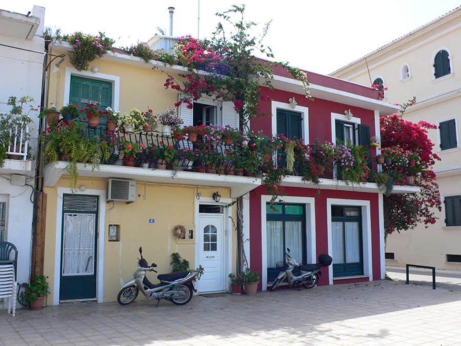 Casas típicas de Zante