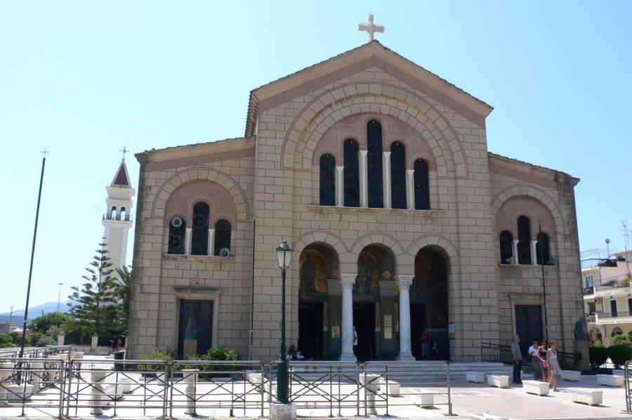 Iglesia San Dionisio en Zante