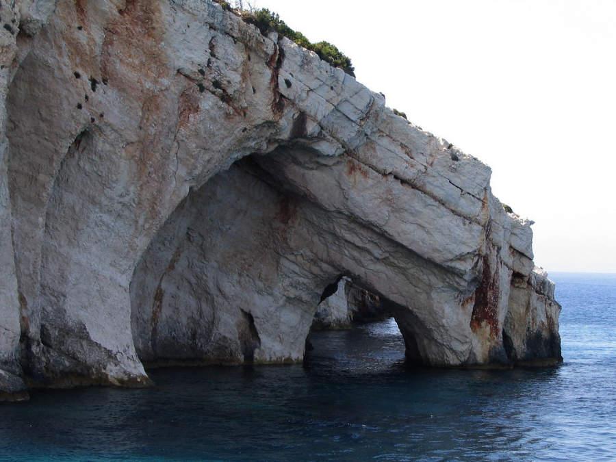 Cueva Azul en Zante