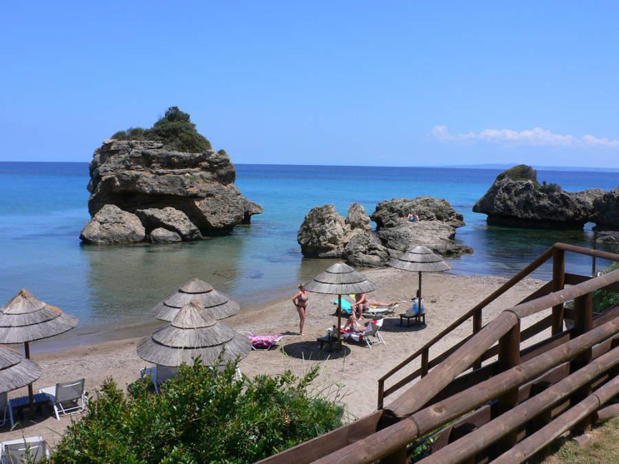 Playa Zoro en Zante