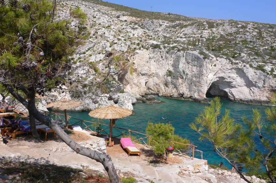 Playa Limnionas en Zante