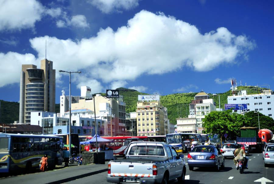Centro de Port Louis