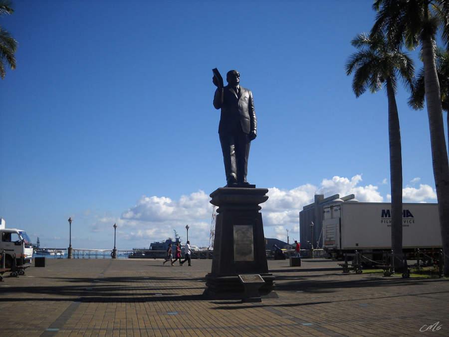 Estatua de Sir Seewoosagur Ramgoolam