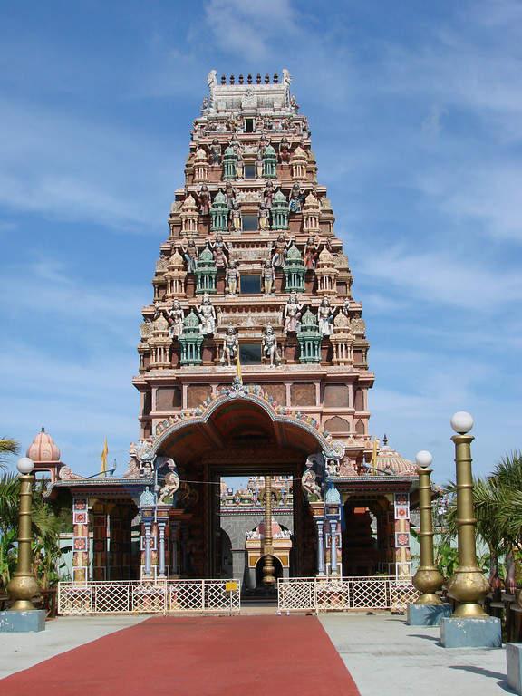 Templo hinduísta en Port Louis