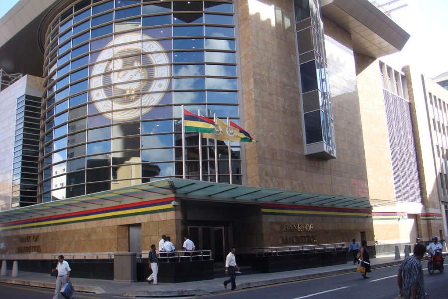 Bank of Mauritius, sucursal de banco en Port Louis