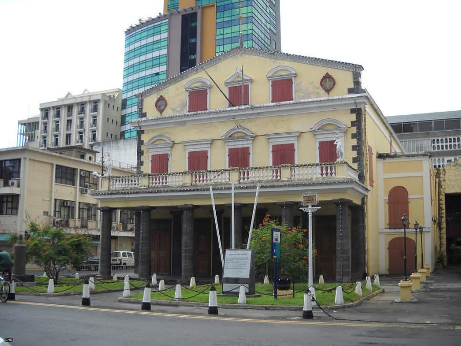 Port Louis Theatre, teatro en el puerto de la ciudad
