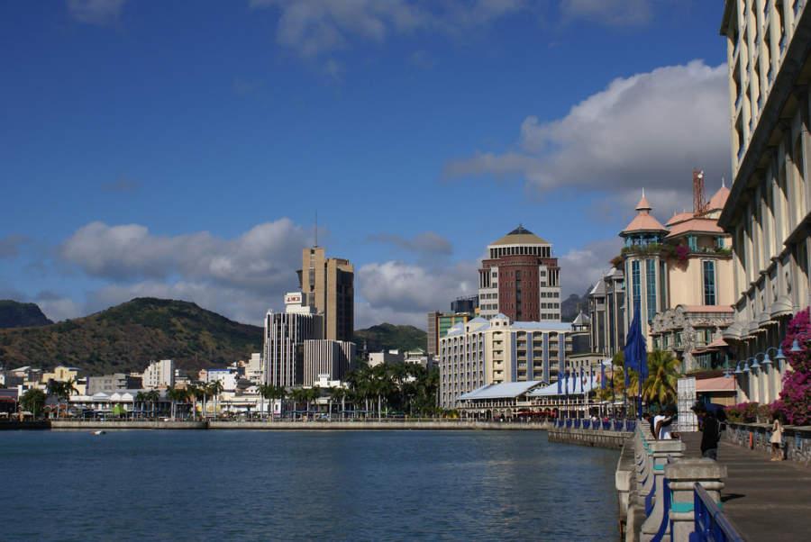 Le Caudan Waterfront, centro comercial en Port Louis