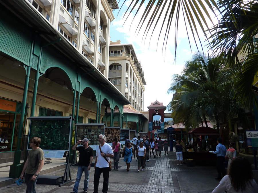 Avenida turísitica de Port Louis