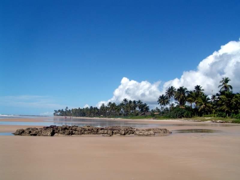 Praia Cana Brava, playa en Ilhéus