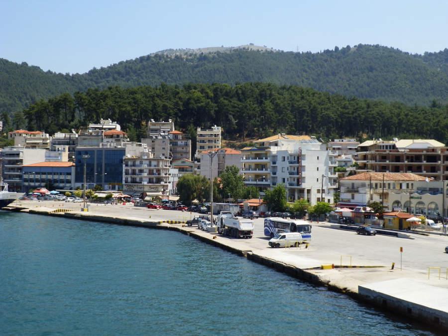 El puerto de Igumenitsa es uno de los más activos de Grecia