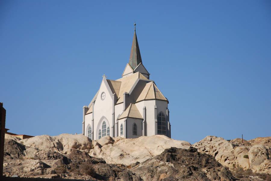 German Lutheran Church, iglesia en Lüderitz