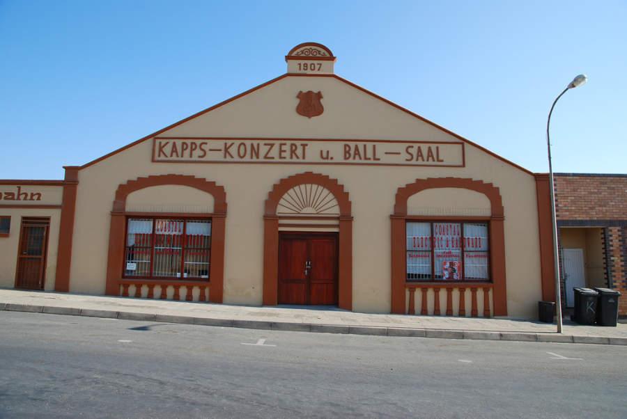 Sala de conciertos y salón de baile en Lüderitz