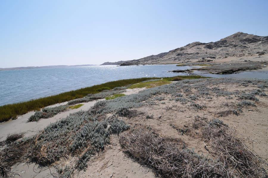 Lüderitz se encuentra en el suroeste de Namibia