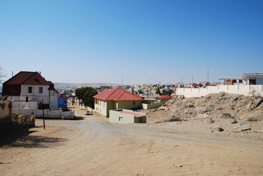 Lüderitz es conocida por su arquitectura de estilo colonial