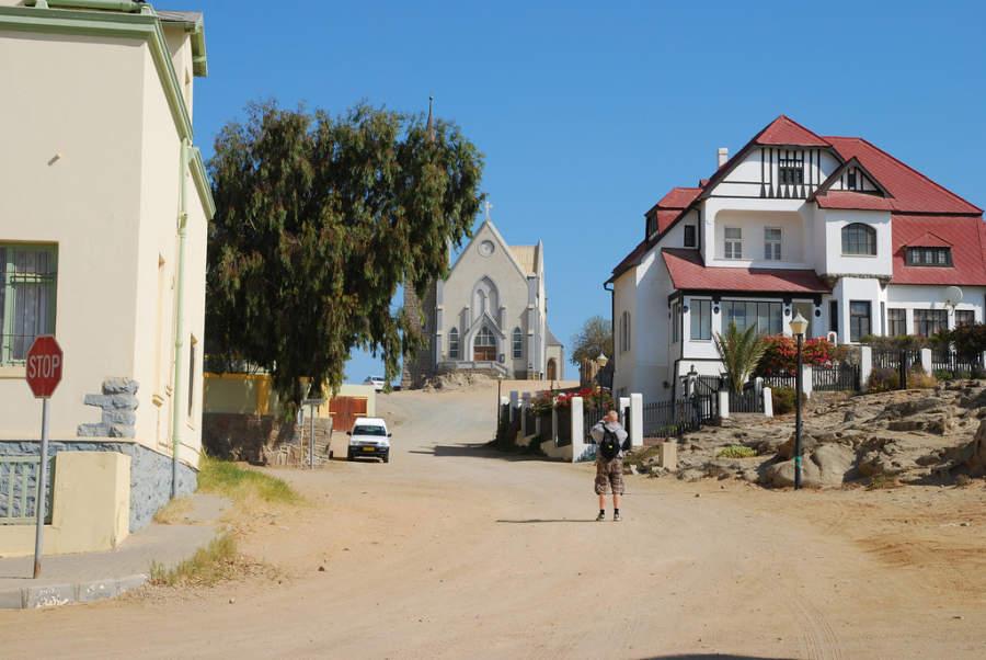 Iglesia en Lüderitz