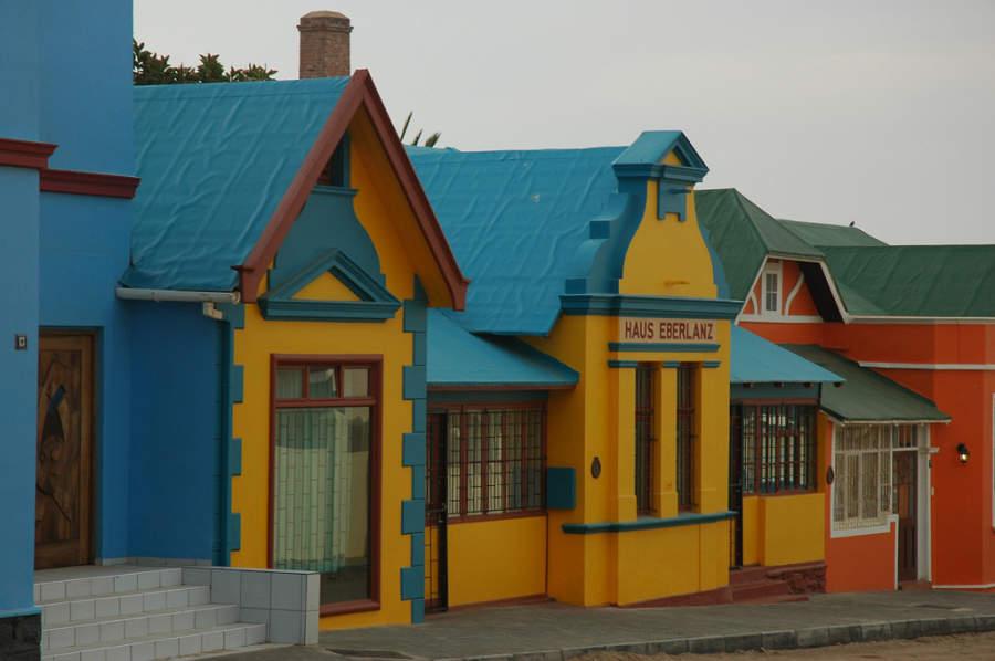 Haus Eberlanz, atracción en Lüderitz