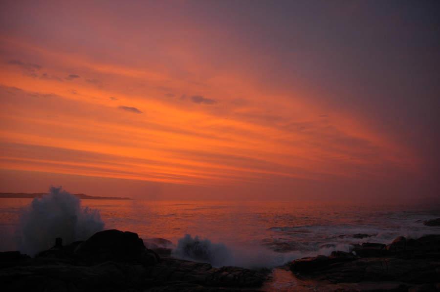 Atardecer en la costa de Lüderitz