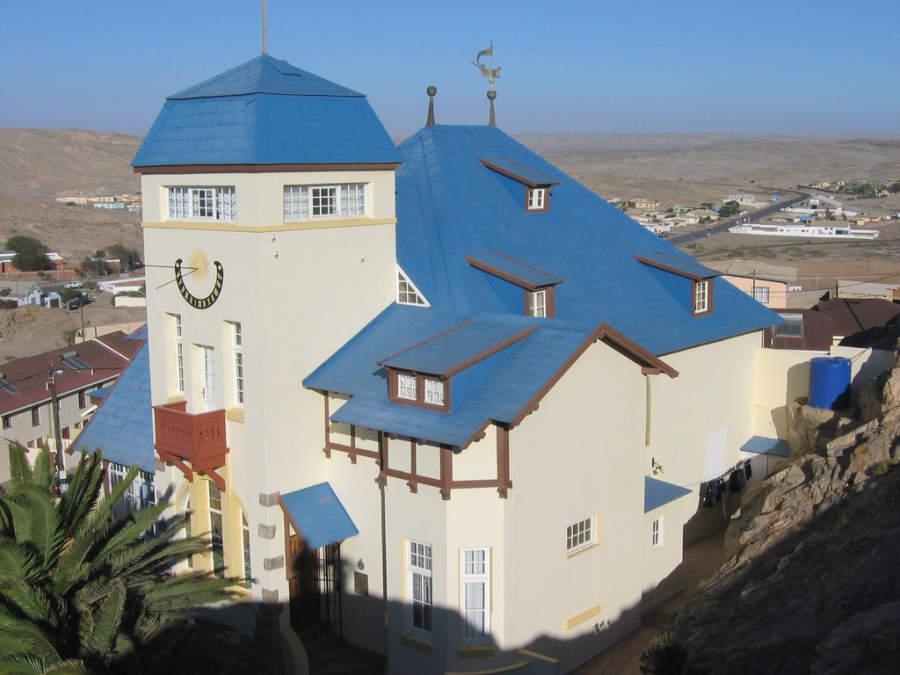 Goerke Haus, casa histórica en el centro de Lüderitz