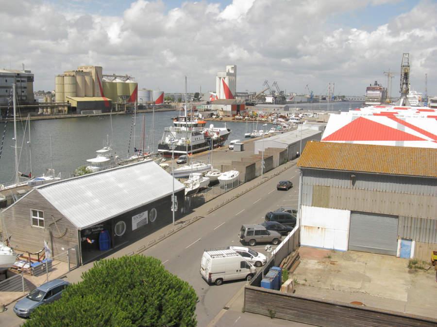 Puerto de Saint-Nazaire