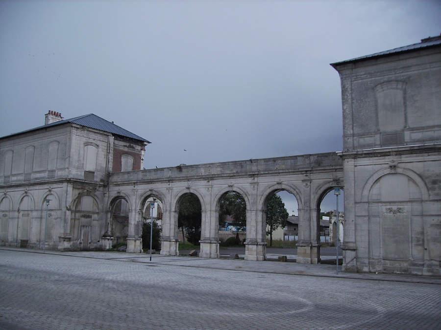 Antigua estación de Saint-Nazaire