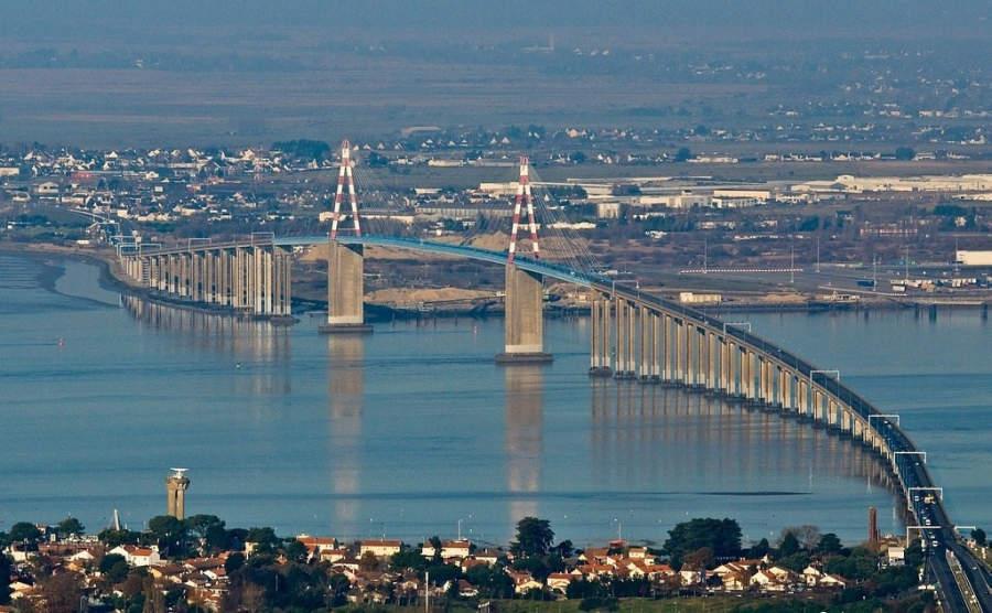Le pont de Saint-Nazaire, puente que cruza el río Loira
