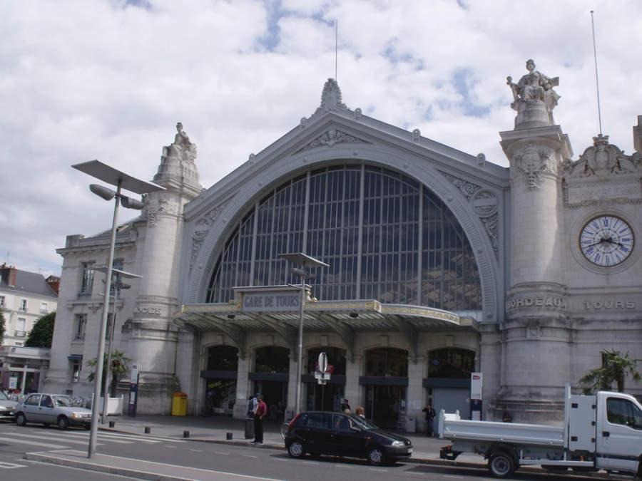 Gare Tours, estación de tren