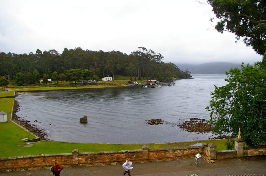 Bahía en Port Arthur