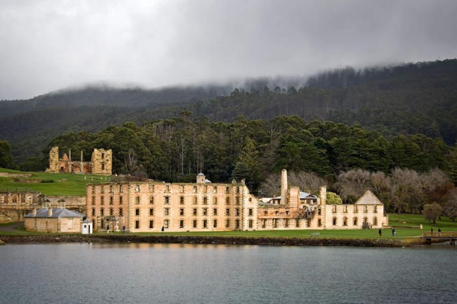 Antigua penitenciaría en Port Arthur, Tasmania