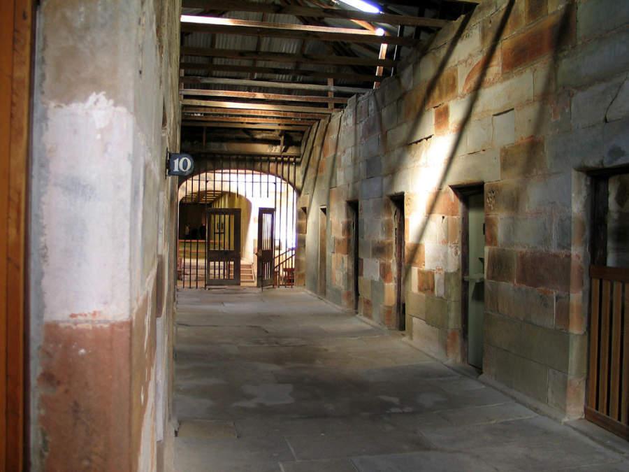 Las prisiones de Port Arthur datan de los sigos XVIII y XIX