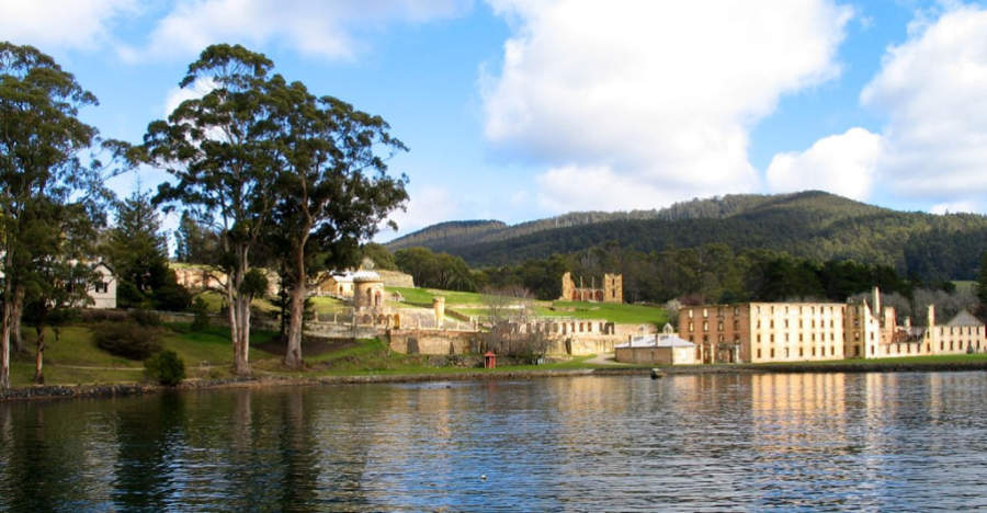 Vista panorámica de Port Arthur