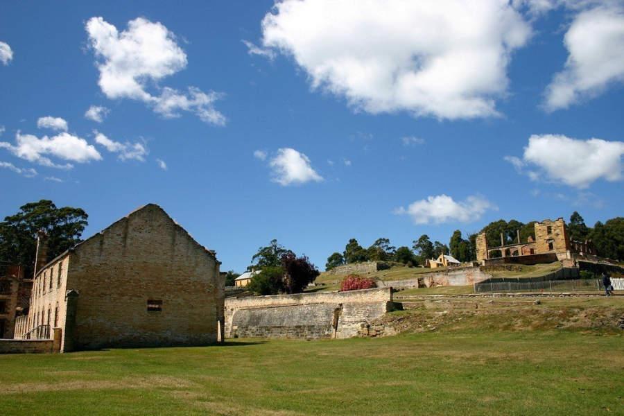 Alrededores de la antigua prisión de Port Arthur