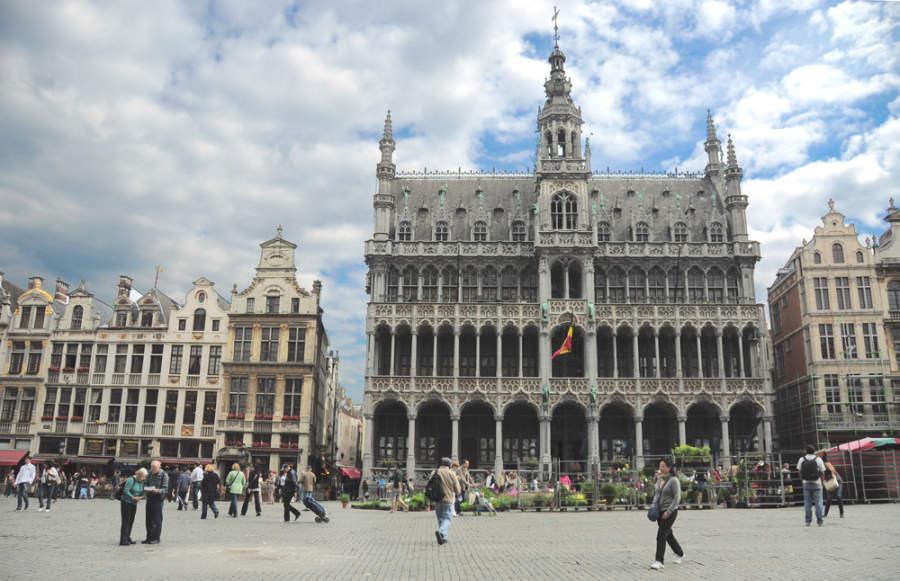 Grand Place, plaza central de Bruselas
