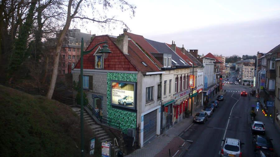 Avenida en Bruselas