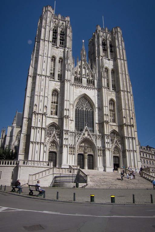 Cathédrale Saints-Michel-et-Gudule, catedral de la ciudad