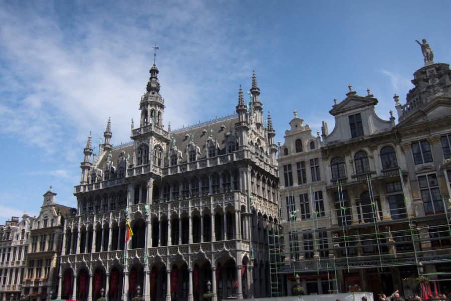 Grand Place, declarado Patrimonio de la Humanidad por la Unesco