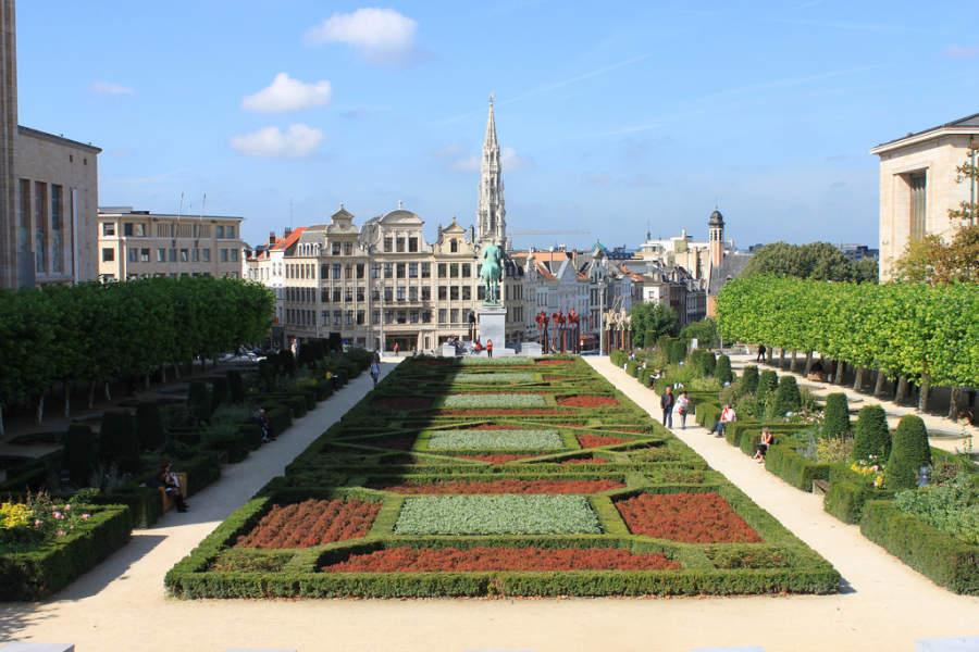 Parque en Bruselas