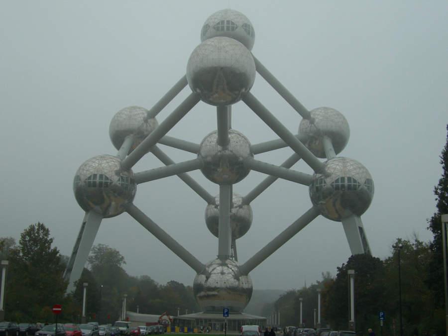 Atomium, importante edificio de Bruselas